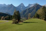 horské panorama - Ostrawitz, Spitzmauer a Gr. Priel