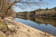 Hvěvkovická přehrada - písčina