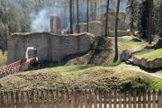 zřícenina hradu Pořešín nad Malší