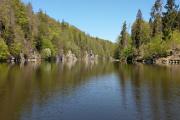 Vltava - Hněvkovická přehrada