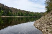 Orlická dam - river Otava