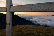 ranní mlha nad Paltental I