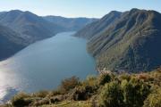 Pigra - vyhlídka na Lago di Como II