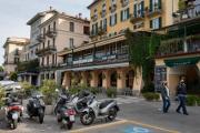 Bellagio - pobřežní promenáda