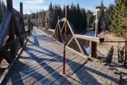 Rechle - hradlový most I