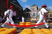 sýrový trh v Alkmaaru II