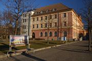 Tschechische Post auf dem Stadtplatz Senovážné náměstí