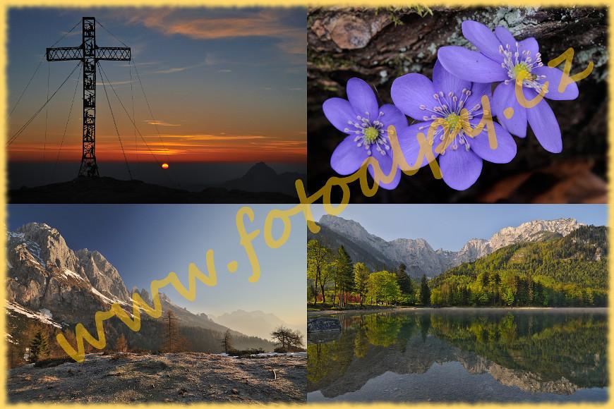 Die Welt der Berge, Foto-Alpen