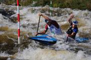 Lipno,MS ČR ve slalomu