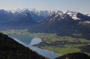 Wolfgangsee a Dachstein,Salzkammergut